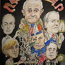 2015 End of year card- another PM over and a new one just begun by Gary Shaw