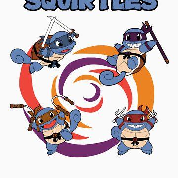 Teenage Mutant Ninja Squirtles by SuperDeano
