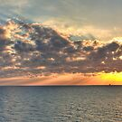 Gulf of Mexico Sunset by RayDevlin