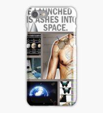 space burial iPhone Case/Skin