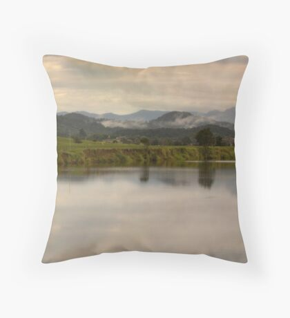 It's not easy to walk alone in the country without musing about something. Throw Pillow