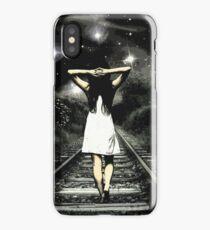 Walking Girl  iPhone Case/Skin