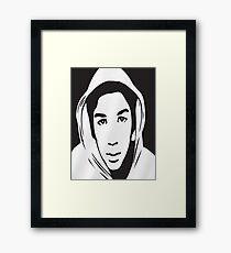 Trayvon Martin T-Shirt (Jamie Foxx As Seen On TV)  Framed Print