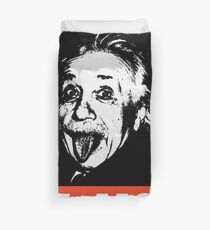 Einstein Obey  Duvet Cover