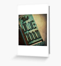The Blue Room Greeting Card