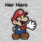 Mushroom Kingdom Couple: Mario Shirt by taydizzle25