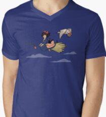 Magical Deliveries Mens V-Neck T-Shirt