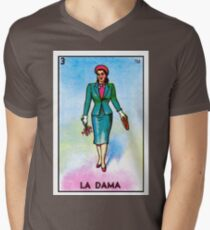 La Dama Men's V-Neck T-Shirt