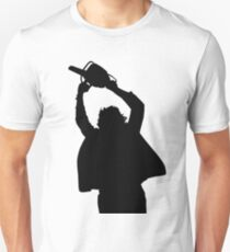 Chainsaw massacre silhouette Unisex T-Shirt