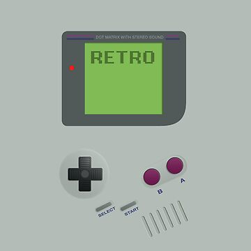 Retro GameBoy by AlexBoatman