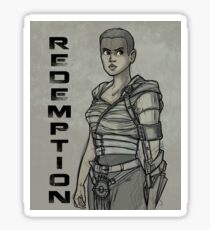 Redemption Sticker