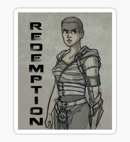Redemption Sticker