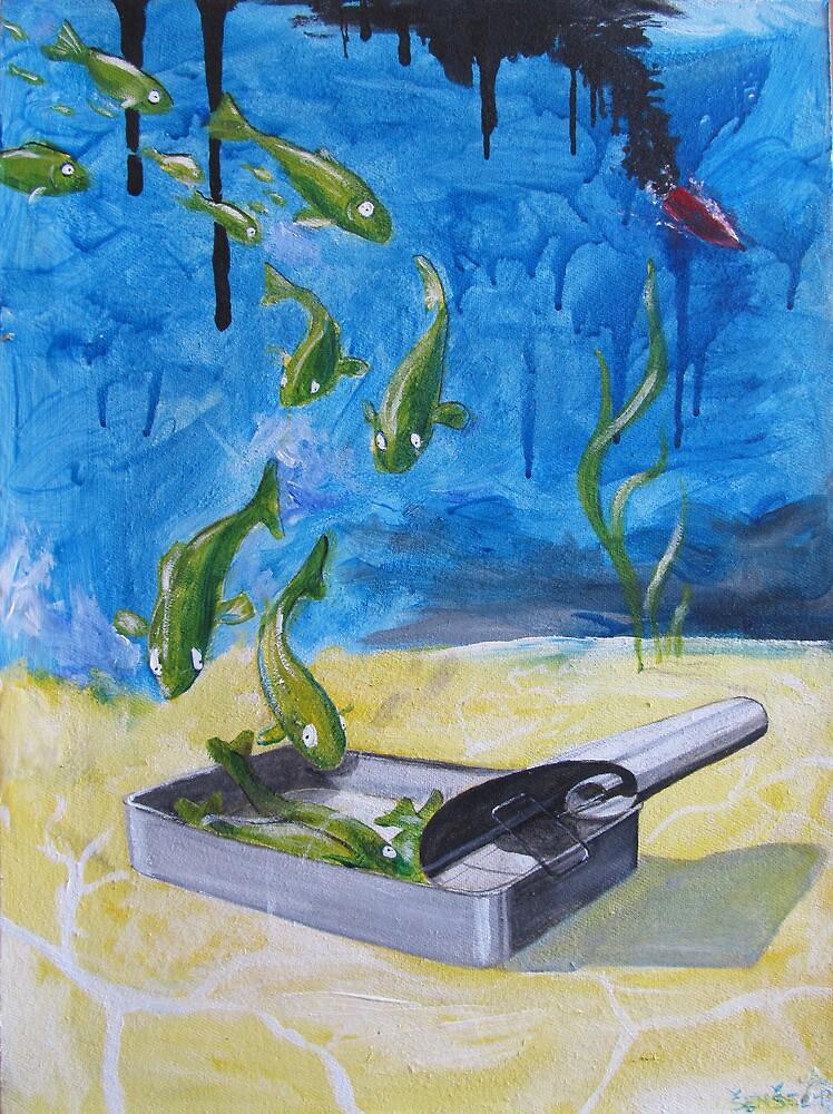 Off- fishial  by Rado van Sensel