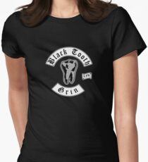 Black Tooth Grin Women's Fitted T-Shirt