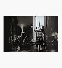 Streets of Bratislava Photographic Print