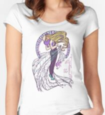 Spider Nouveau Women's Fitted Scoop T-Shirt