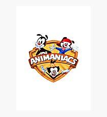 animaniacs logo Photographic Print