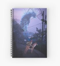 the journey to the west  Spiral Notebook