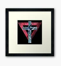 Lady Gaga Symbols Framed Print