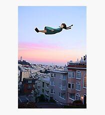 Sheeta fallin in Tokyo Photographic Print