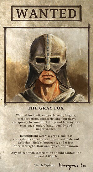 Wanted: The Gray Fox by Fiona Boyle