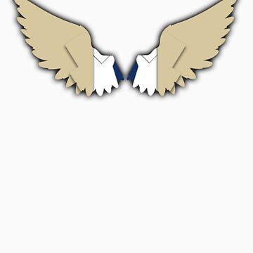 Castiel - Angel Wings by fabricate