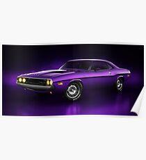 Dodge Challenger Hemi - Shadow Poster