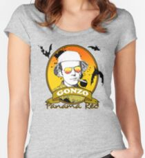 Panama Red - Hunter S Thompson Women's Fitted Scoop T-Shirt