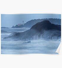 Lennard Island Lighthouse Poster