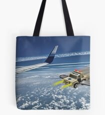 Pull Over!!! Tote Bag