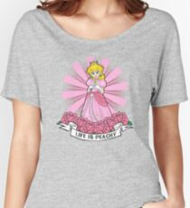 Life Is Peachy Women's Relaxed Fit T-Shirt