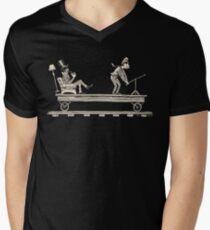 Handcar Limo Mens V-Neck T-Shirt