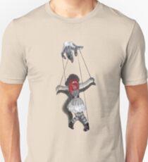 All Strung Up; Human Marionette T-Shirt