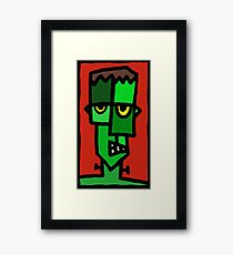 Frankenstein's Munster Framed Print