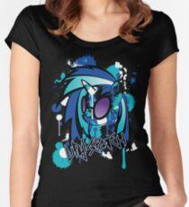 vinyl pony  Women's Fitted Scoop T-Shirt