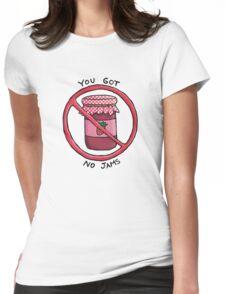 You got no jams (literally) - Rap Monster (BTS) Womens Fitted T-Shirt