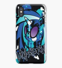 vinyl pony iPhone Case/Skin