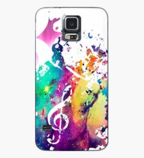 Music Galaxy Case Case/Skin for Samsung Galaxy