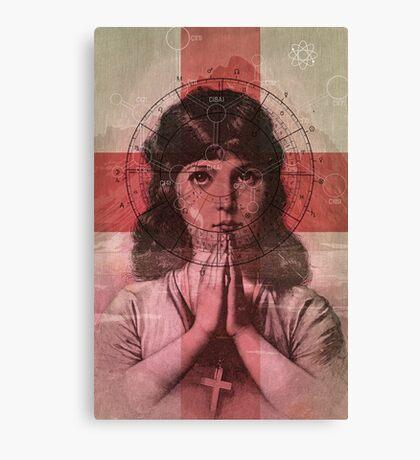 The Christian Girl Canvas Print