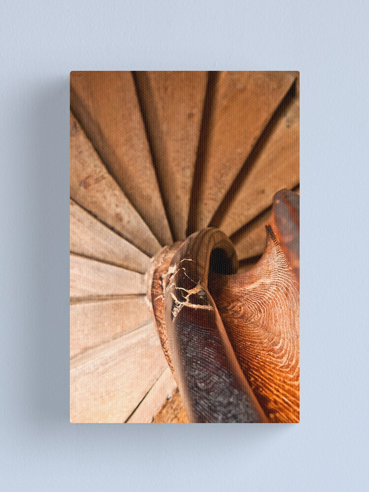 Alternate view of Spiral Staircase, Leeds Castle Canvas Print