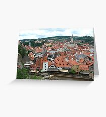 Cesky Krumlov, Czech Republic Greeting Card