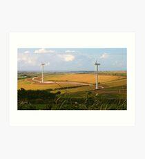 Turbines Art Print