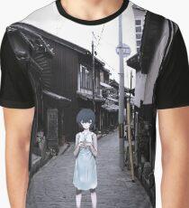 mini Rei in Tokyo Graphic T-Shirt
