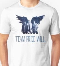 Team Free Will in BLUE T-Shirt