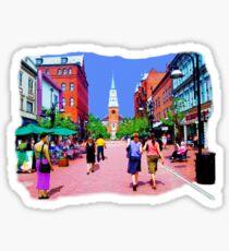Vermont Street Painting Sticker