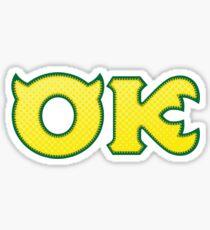 Oozma Kappa Sticker