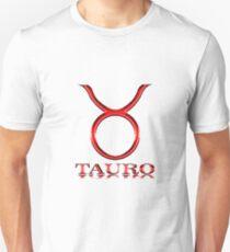 Signo del Horoscopo - Tauro Unisex T-Shirt