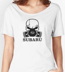SUBARU SKULL Women's Relaxed Fit T-Shirt