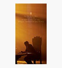 Twelve Doctor Who (2) {CASES, ETC} Photographic Print