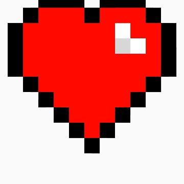 8-Bit Heart by geekery